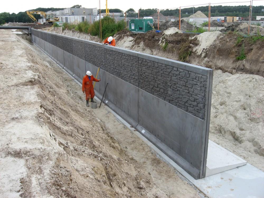 Bfh giro st tzwand in coevorden - Gartenmauer fertigteile ...